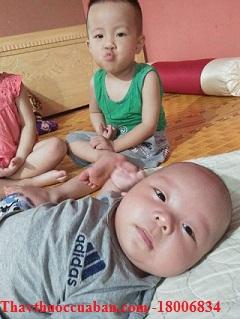 Nhờ thuốc hở eo mà chị Hương 1991 đã sinh được 2 bé đáng yêu này